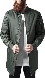 Long Bomber Jacket Streetwear Giacca Uomo