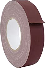 WOD CGT-80 Burgundy Gaffer Tape Low Gloss Finish Film, Residue Free, Non Reflective Gaffer, Better than Duct Tape (Available in Multiple Sizes & Colors): 1.5 in. X 60 Yards (Pack of 1)
