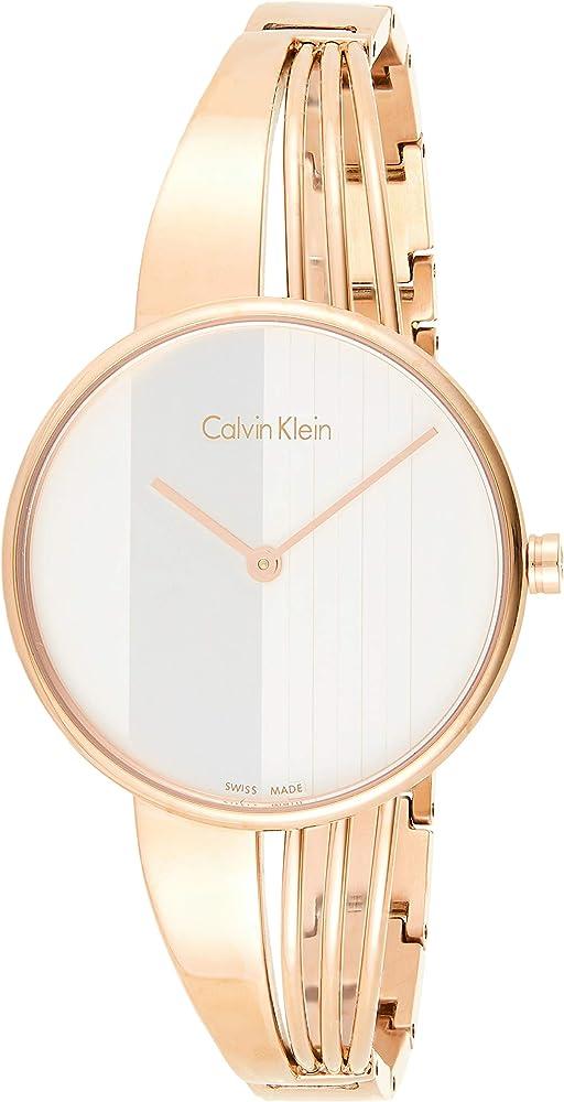 Calvin klein orologio da donna in acciaio inossidabile K6S2N616