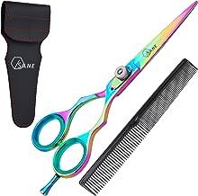 Sane Professional Hairdressing Scissors 6.5'' Titanium Coated Hair Scissors Hair Cutting Scissor with Adjustable Screw Ult...