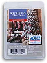Seasonal Decor Holiday Edition Scents Wax Cubes - Vintage Farmhouse Christmas