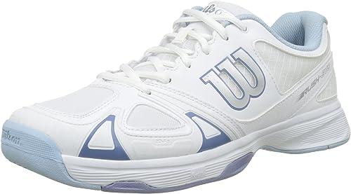 WILSON Rush Evo W, W, W, Chaussures de Tennis Femme 42d