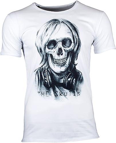 The skulls t-shirt pour hommes DJ Tête de mort