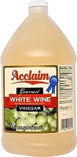 Acclaim Gourmet White Wine Vinegar, 128 Ounces (1 Gallon) - 5% Acidity