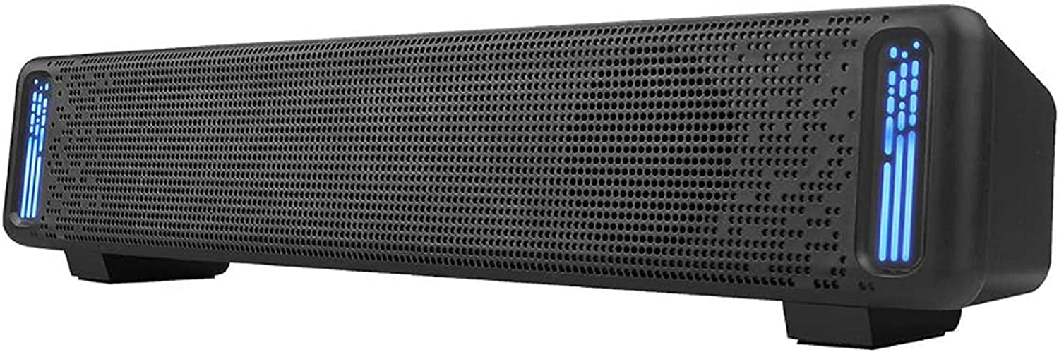 Computer Speakers PHISSION USB Deluxe Sound Powered Seattle Mall Dual Bar