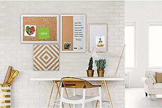 MasterVision SOR032 Positive Flow Neutrals Message Board Set, Assorted Sizes & Colors, 4/Set