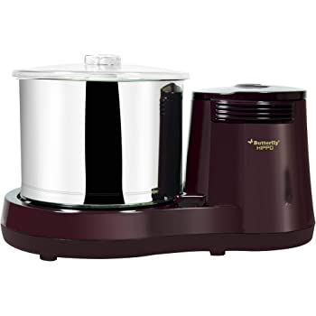Butterfly Hippo Table Top Wet Grinder, 2 L (Cherry)