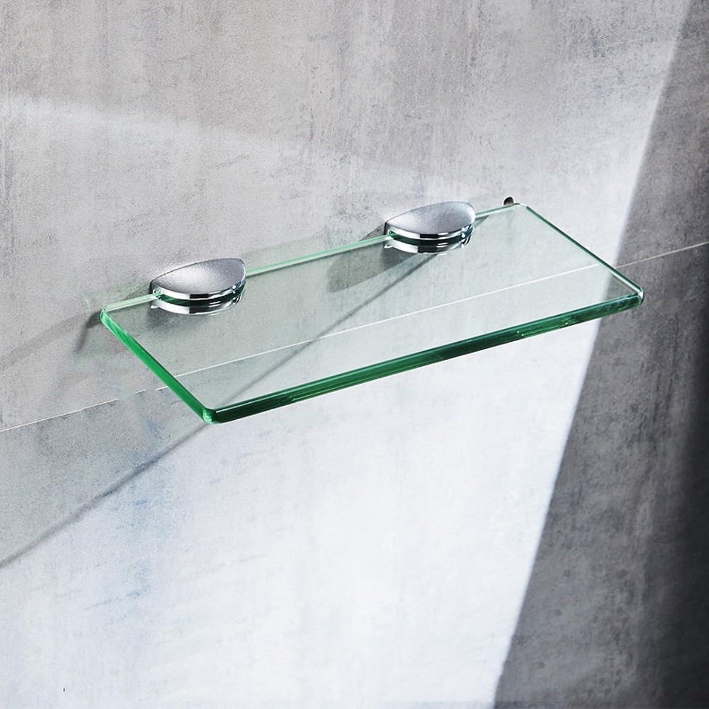 buscando agente de ventas Cuarto de bao Estante de de de vidrio Material de aleación De una sola capa de vidrio de 6 mm (Color   10.6  33.8CM)  bienvenido a elegir