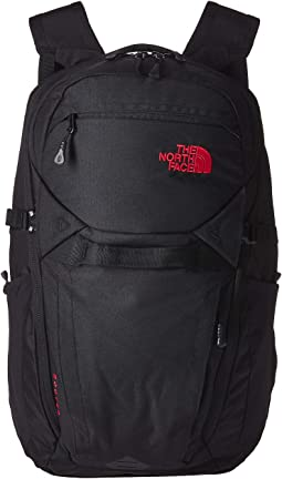 TNF Black Heather/TNF Red