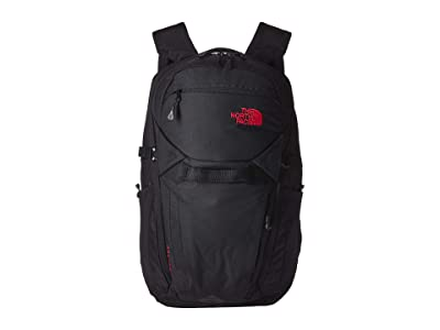 The North Face Router Backpack (TNF Black Heather/TNF Red) Backpack Bags