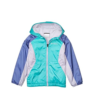 Columbia Kids Ethan Pondtm Fleece Lined Jacket (Little Kids/Big Kids) (Bright Aqua/African Violet) Girl