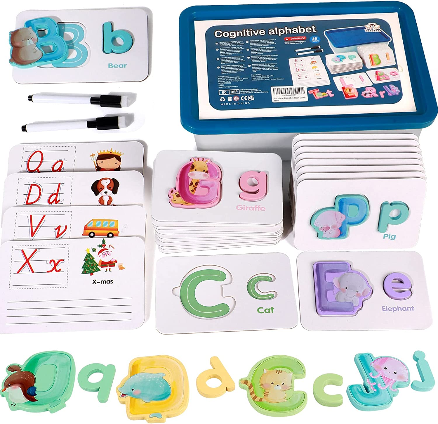 Alphabet Flash Cards for Toddlers Years Preschool ABC Learni 2-4 Cheap San Diego Mall mail order shopping