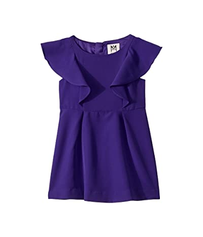 Milly Minis Ruffle Dress (Toddler/Little Kids) (Royal) Girl