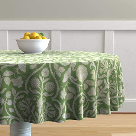 Table Runner French Vintage Rococo Toile Shabby Chic Cottage Style Cotton Sateen