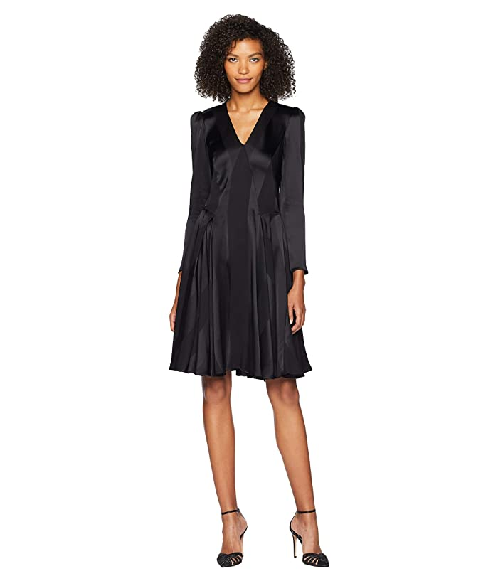 Zac Posen 05-5564-60 (Black) Women's Dress