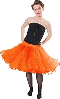 Madeline Knee Length Petticoat - Very Full Skirted Dance Petticoat for Serious Skirt Volume Vintage Clothing and Rockabilly
