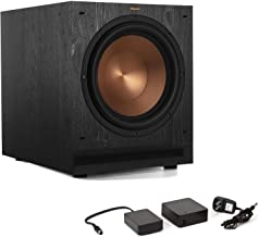 Klipsch SPL-120 12-inch Powered Subwoofer Bundle with Klipsch WA2 Wireless Adapter - Ebony