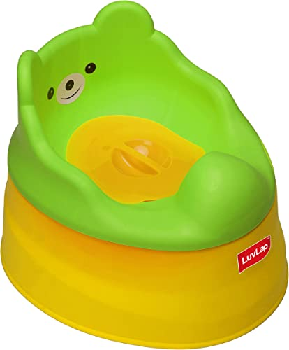 LuvLap Adaptable Baby Potty Training Seat (Yellow & Green)
