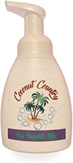 Lily of the Valley Handmade All Natural Coconut Oil Base Liquid Foaming Hand Soap 8.5 oz - My Daughter Lilly - Coconut Country