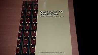 Quantitative Reasoning: Critical Thinking and Problem Solving