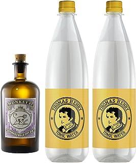 1 x Monkey Gin & 2 x Thomas Henry 1,0 Liter Tonic inc. 0.30€ MEHRWEG Pfand