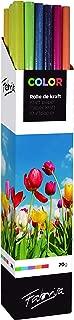 Caja Expositora con Rollos Kraft Tamaño 1mx3m Surtido de Colores