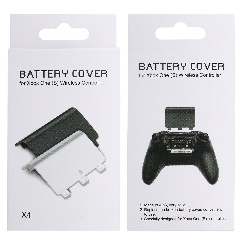 MoKo Xbox One Batería de la Puerta: Amazon.es: Electrónica