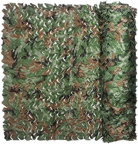 Jungle Camouflage Net Visor Camouflage Camouflage Net, Montagne Vert Décoration Net Chasse Tir Camping Caché Militaire Camouflage Enfants Voiture Couverte Tente, Différentes Tailles ( Couleur   6M×10M )