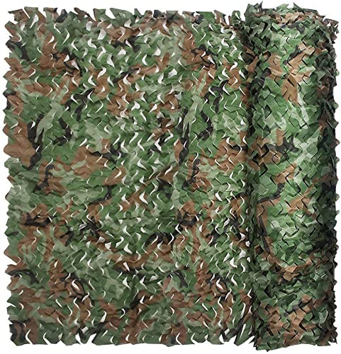 WNpb 2Mx3M Parasol Camouflage Oxford, Armée de Tir Au Champ Boisé, Tente de Camping en Plein Air (Taille   4m×8m)