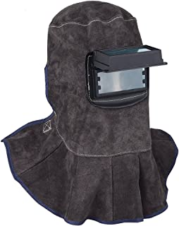 leather sock welding hood