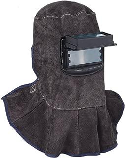 TOOLTOO Leather Welding Hood - 3 in 1 Welding Helmet Face Mask