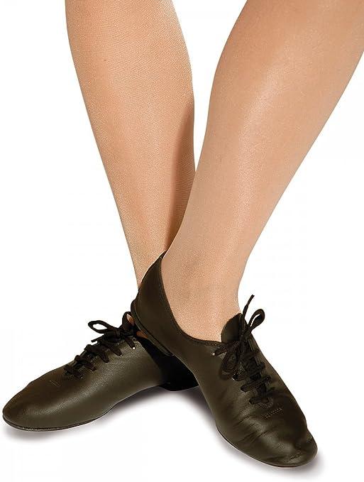 Roch Valley AJSR Leather Jazz Shoe Black