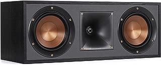 Klipsch R-52C Powerful detailed Center Channel Home Speaker - Black (Renewed)