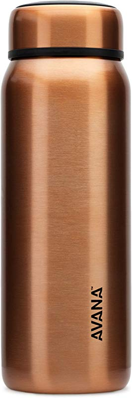 Avana Beckridge Stainless Steel Double Wall Insulated Water Bottle 32oz Copper