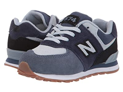 New Balance Kids IC574v1 (Infant/Toddler) (Pigment/Black) Boys Shoes