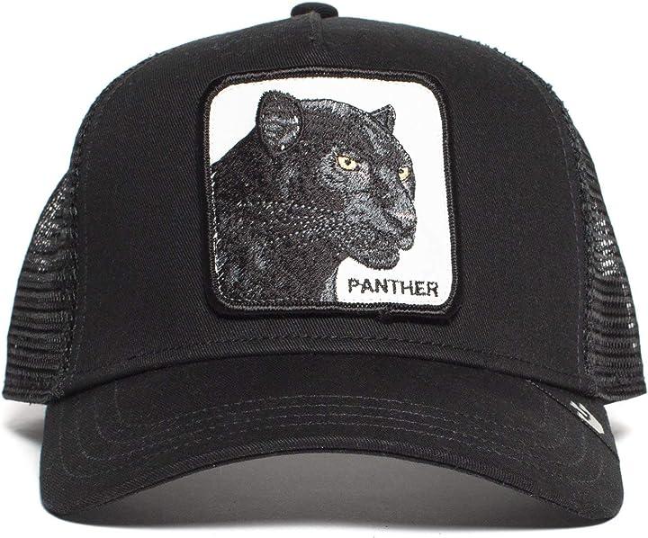 Cappellino da baseball uomo panther goorin bros 101-9991-WHI-O/S