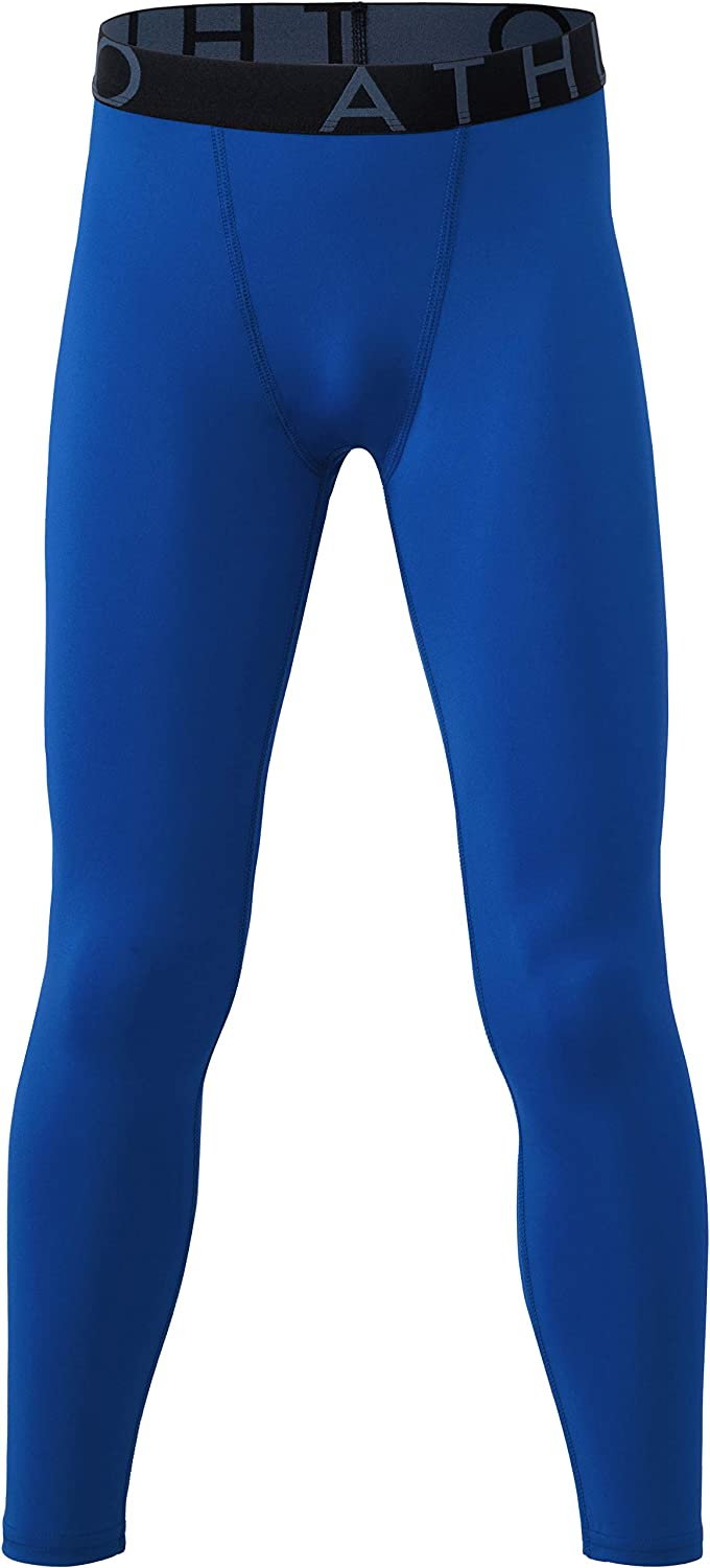 Selling rankings ATHLIO Limited Special Price 1 or 2 Pack Boy's UPF Compression Baselayer 50+ Pants Co