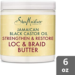 SheaMoisture Jamaican Black Castor Oil Moisture Twist And Loc Butter, 6 Ounce