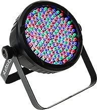 DragonX DJ Lighting – RGB LED Lights w/Amber & White RGBA – Slim LED 64 Par Can Wash Light 177 (10mm) Party Light for DJ Lighting, Uplighting, Wedding Lights, Event Lights, Stage Lights, DMX 512