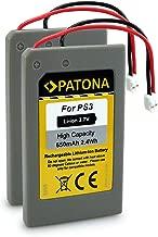 PATONA 2X Akku ersetzt LIP1359, LIP1859, LIP1472 kompatibel mit Playstation 3 PS3 Controller