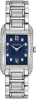 Bulova - 96r211 Diamante de Acero Inoxidable Reloj de Cuarzo analógico de la Mujer