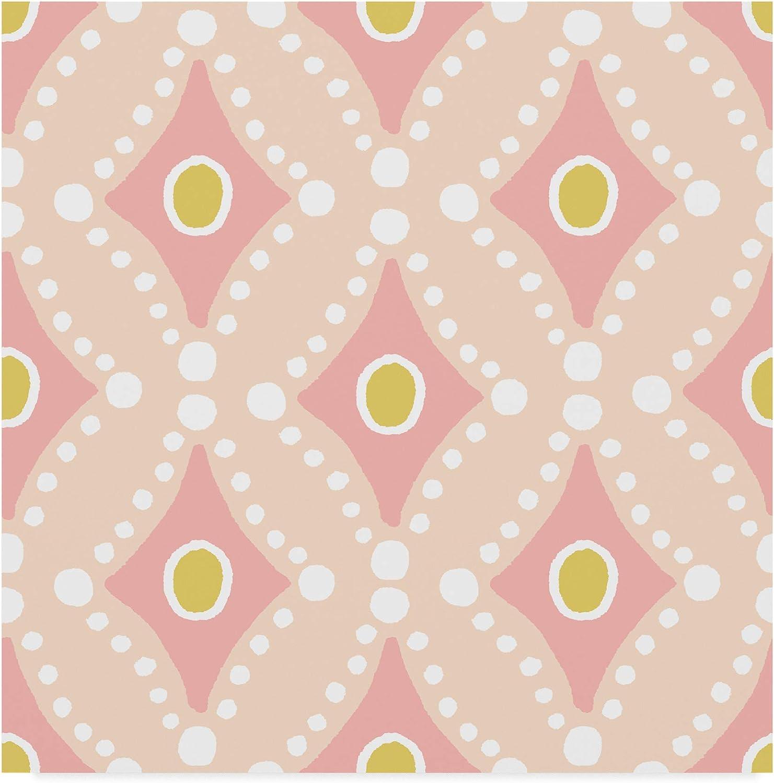 Trademark Fine Art Baby Quilt Pattern 9 Art by Beth Grove 9, 14x14