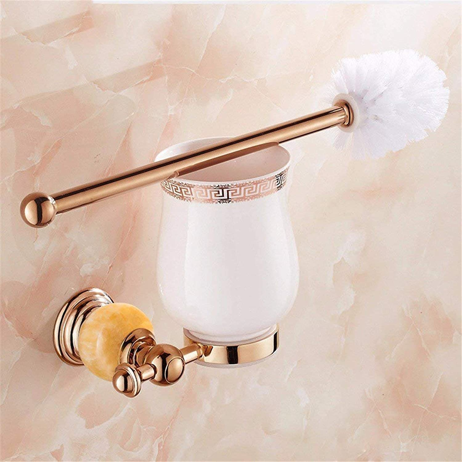 The Antiquity The Pink gold Pendentif Jade WC Brush Bathroom,Boxes to soap