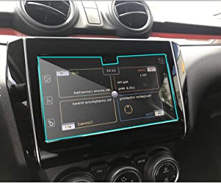 HAZYJT Navigation Protection D'écran Tactile HD Transparent GPS Film Protection D'écran Tactile en Verre Trempé Compatible...