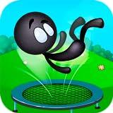 Trampoline Stickman Jumper Flip: Sport Challenge Gymnastics Game