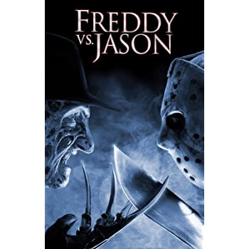 W194 New Freddy VS Jason Classic Horror Movie Poker CLUB BAR Art Poster Print
