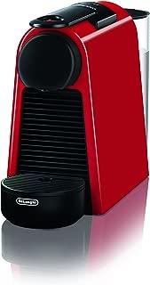 De'Longhi Nespresso德龙雀巢 Essenza Mini 胶囊咖啡机 | EN 85.R| 送不同口味的咖啡胶囊体验礼盒| 19 bar泵压| 节省空间|红