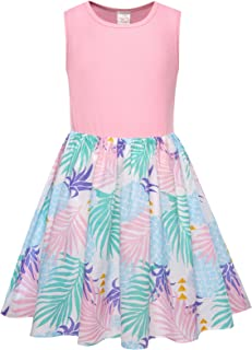 Bonny Billy Girl's Cacual Tank Dresses for Kids