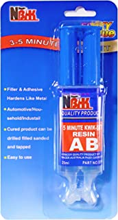 Epoxy Resin, 0.85-Fluid Ounce Metal Epoxy Adhesives, High Viscosity and Strong Epoxies Multi-Purpose Epoxy Glue Instant Repair Wood, Plastic, Glass (Y-Type)