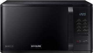 Samsung - Horno microondas Grill Combinado, 23 litros, 800 W, Grill 1100 W, Colo Negro, Ref. MS23K3513AK